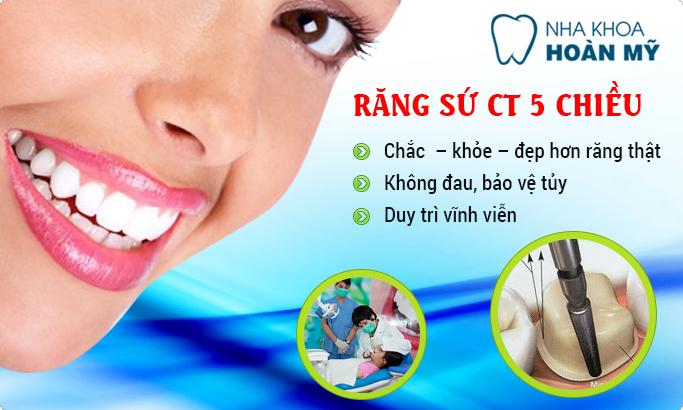 Làm răng sứ có đau và ảnh hưởng gì không