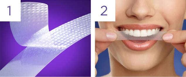 Miếng dán trắng răng Crest 3D