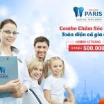 Combo Chăm Sóc Răng Toàn Diện Cho Cả Gia Đình 12 Tháng Chỉ 500.000 VND