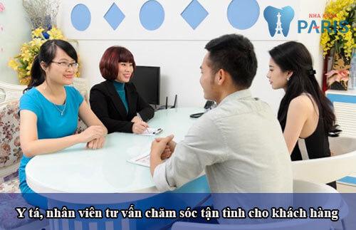 Trồng răng ở đâu tốt nhất tphcm -Dịch vụ chăm sóc khách hàng chu đáo