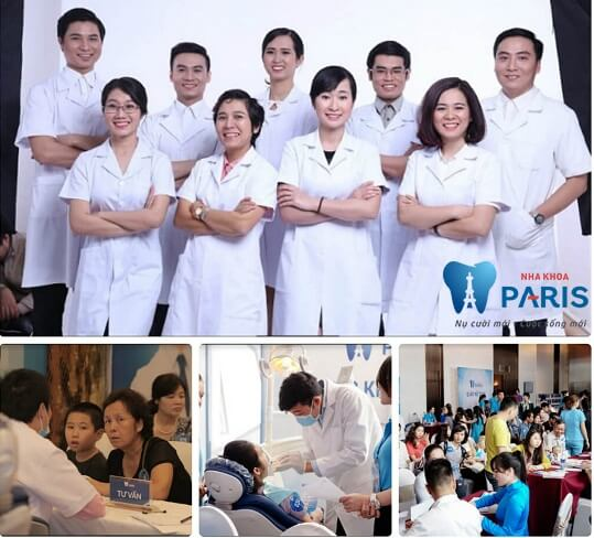 Đội ngũ bác sĩ tận tình, chuyên môn cao tại nha khoa Paris