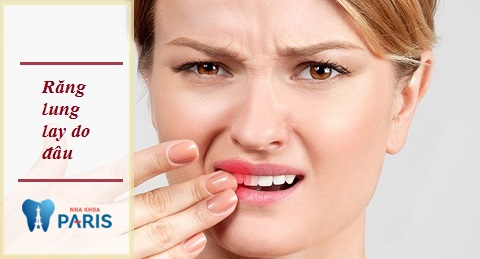 Răng lung lay do đâu?