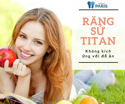 Trồng răng sứ Titan và 5 điều bạn nhất định phải biết!