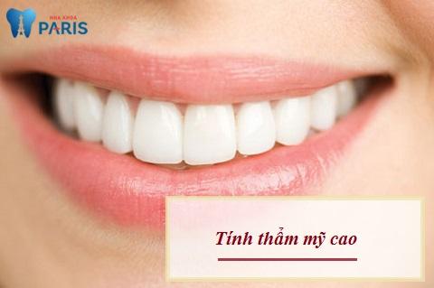 Cầu răng sứ đem lại tính thẩm mỹ cao